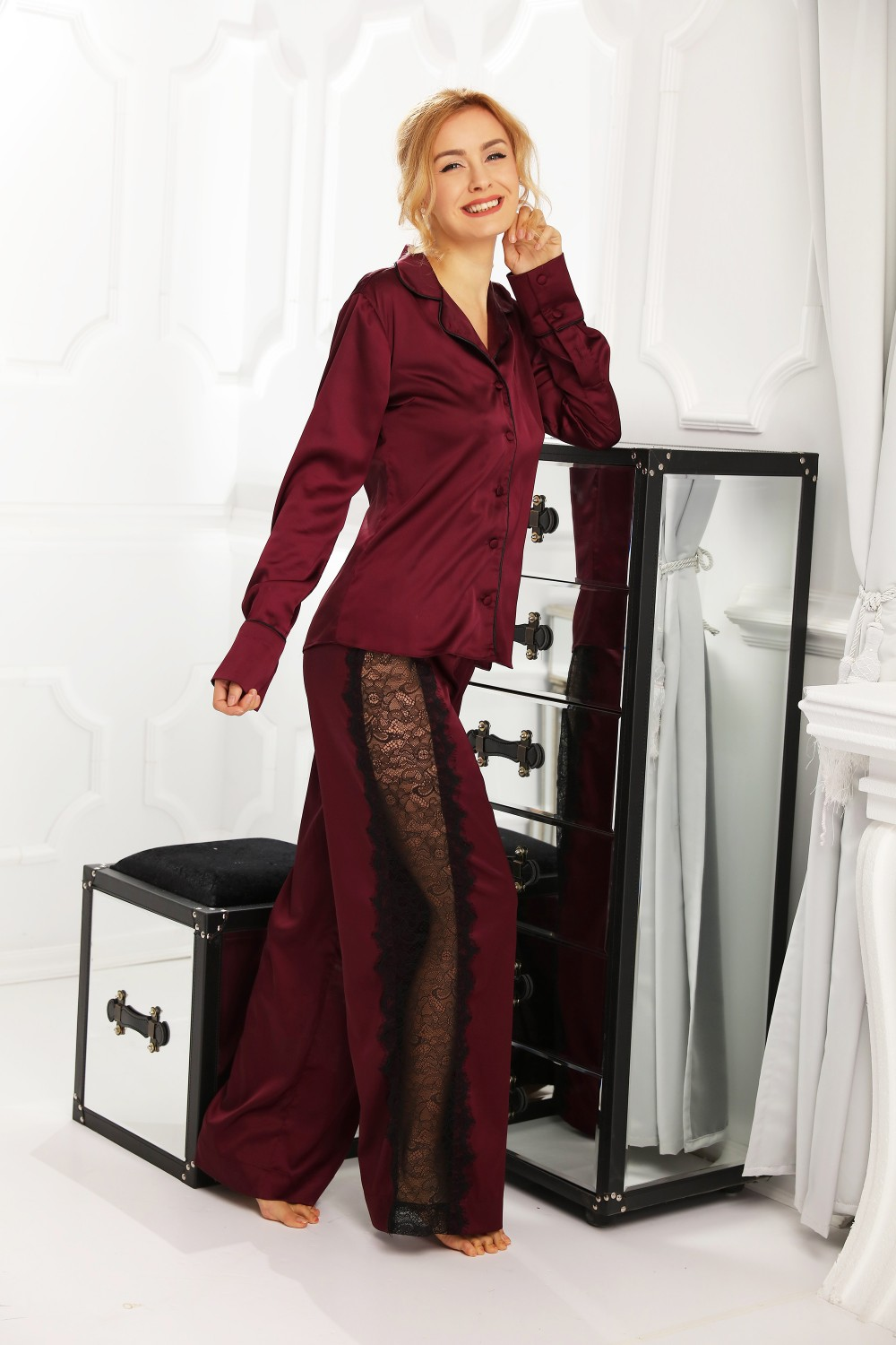 Pijamale Dama Garnet Lace